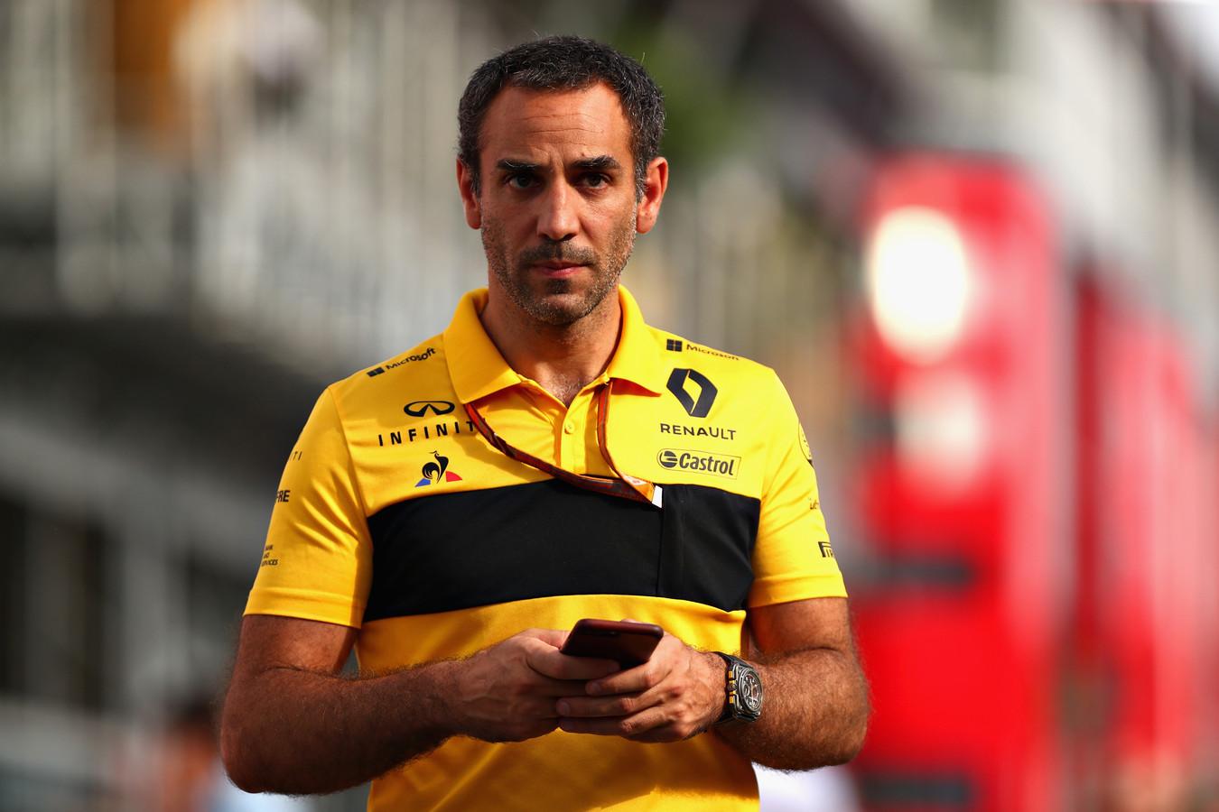 Cyril Abiteboul, teambaas van Renault