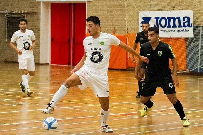 Groene Ster-speler Khalid El Hattach.