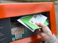 Meer dan de helft van de brievenbussen in Uden en Veghel verdwijnt