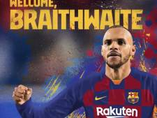 Le Barça recrute le Danois Braithwaite comme joker médical