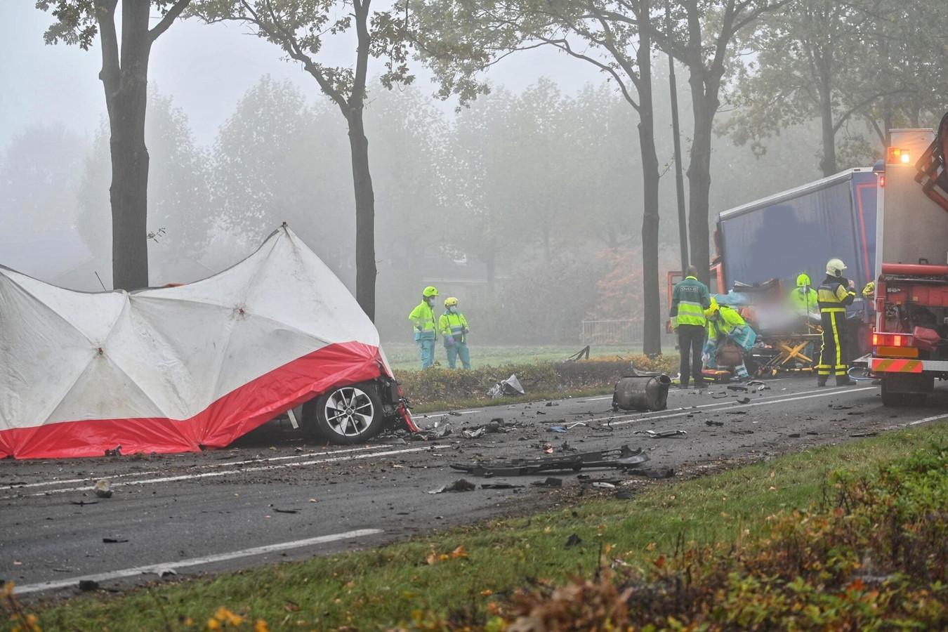 Ernstig ongeluk in Rijsbergen.