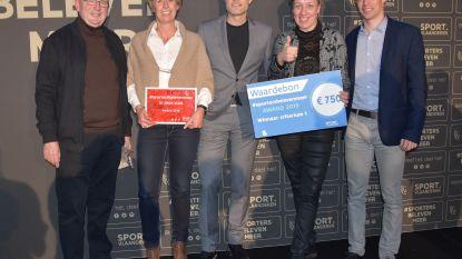 Oudenburg valt in de prijzen met #sportersbelevenmeer