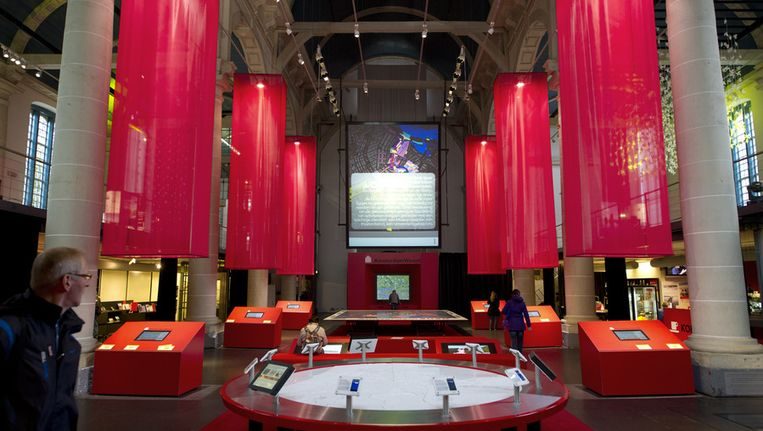 Het Nationaal Historisch Museum presenteert van 20 mei tot en met 9 september 2011 een compacte overzichtstentoonstelling van de Nederlandse geschiedenis in de Zuiderkerk in Amsterdam. Het werkelijke museum zal in de nabije toekomst echter niet gerealiseerd worden. ©anp Beeld null