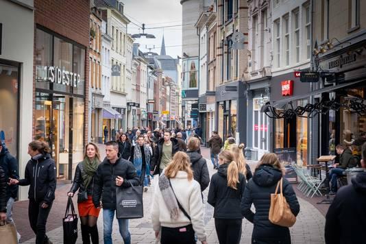 De Arnhemse binnenstad op 15 maart.