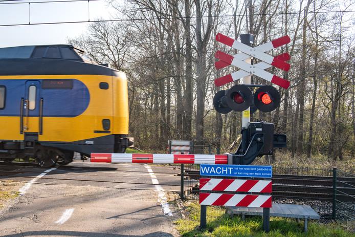 Een trein van de NS