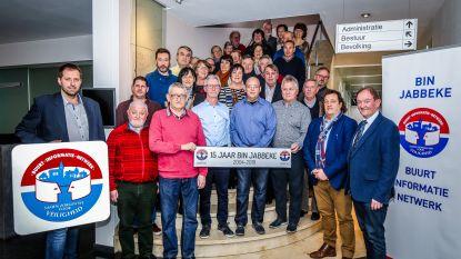 BIN Jabbeke viert 15-jarig bestaan tijdens nieuwjaarsreceptie