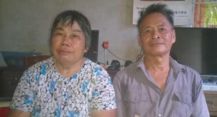 De ouders van Wen Yunchao Beeld Amnesty International