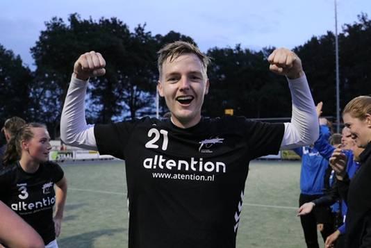 Topscorer Matthijs Baerends