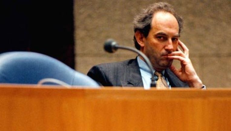 Job Cohen in januari 1999 als staatssecretaris van justitie in de Tweede Kamer. Foto GPD Beeld