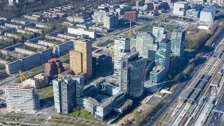 De Amsterdamse Zuidas Beeld ANP