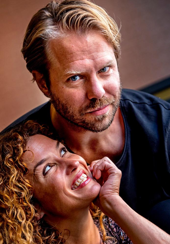 Katja Schuurman en Thijs Römer