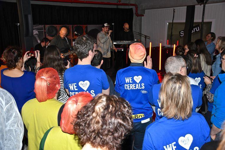 StuBru verraste Mulder met een live uitzending in het bedrijf en een gratis concert van Ertebrekers.