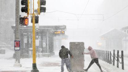 Drie doden door hevige sneeuwstorm in midden van VS