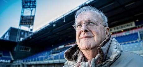 PEC-voorzitter Adriaan Visser denkt aan vliegtuigen en acrobaten om de sfeer in het stadion te verhogen