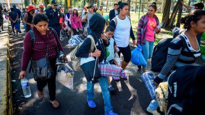 Pentagon wijst verzoek van Trump af: geen detentiecentra voor migrantenkaravaan