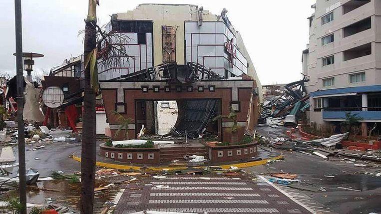 Het verwoeste Casino Royale. Beeld afp