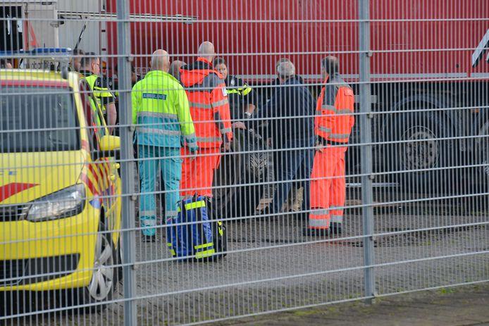 Ambulances kwamen ter plaatse.