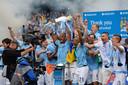 Manchester City werd in 2018 met overmacht landskampioen.