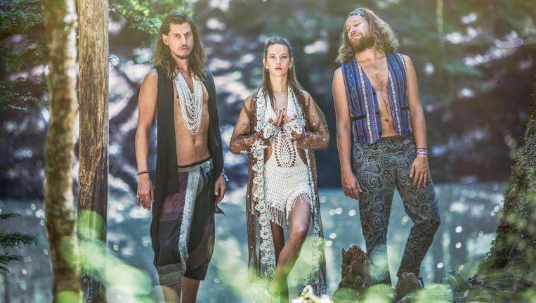 Prehistoric rhythm, het nieuwe album van My Baby, wordt vrijdagavond gepresenteerd in de Melkweg. Beeld Kay Buchanan