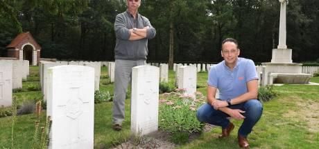 Wie zijn de omgekomen militairen op de Oorlogsbegraafplaats in Overloon?