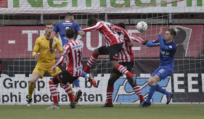 De Treffers, hier in actie tegen Jong Sparta, weet pas op 7 augustus tegen welke tegenstander er wordt begonnen.