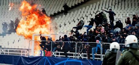 Ajax vrijuit na rellen in Athene, AEK krijgt geldboete en voorwaardelijke uitsluiting