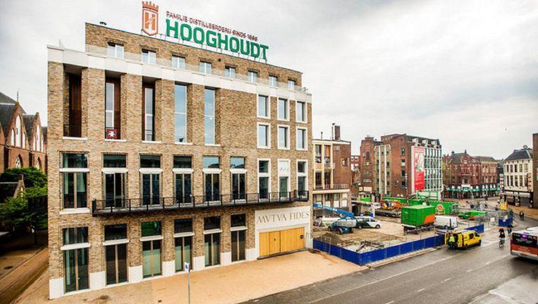 Het gebouw van Vindicat aan de Grote Markt in Groningen. Beeld anp
