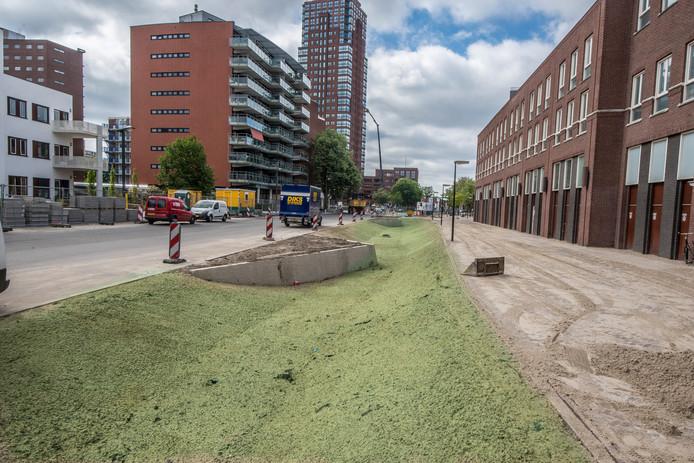 De maatregelen in de Oldenzaalsestraat noemde minister Cora van Nieuwenhuizen eerder 'een inspirerend voorbeeld voor de rest van het land'.