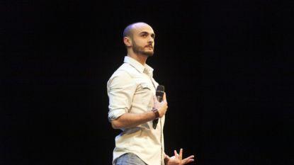 Farbod Moghaddam wint Leids Cabaret Festival
