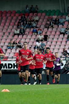 Coronagolf bij NEC in aanloop naar topper; zes spelers en twee keepers missen laatste training