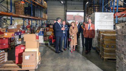 """Prinses Astrid bezoekt West-Vlaamse Voedselbank en platform Food Act 13: """"Mooie erkenning voor ons werk"""""""