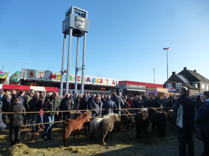 De paardenmarkt van Hedel is in 2018 op 5 november.