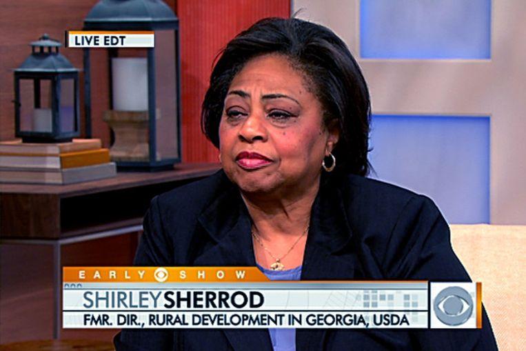 Shirley Sherrod, hier in een videostill uit een interview met CBS News (AP) Beeld AP