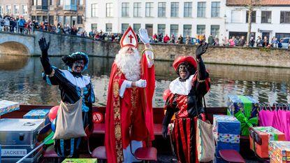 Pieten blijven zwart in Brugge
