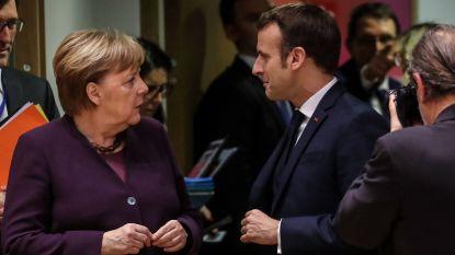 """Merkel en Macron willen met Poetin en Erdogan werken aan oplossing voor """"catastrofale humanitaire toestand"""" in Idlib"""