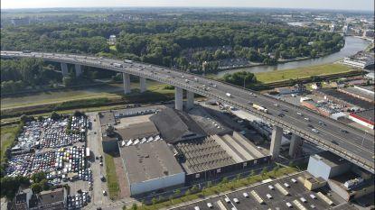 Viaduct Vilvoorde even dicht door ongeval