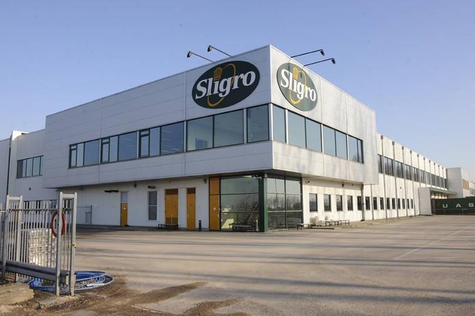 Het hoofdkantoor van Sligro in Veghel.