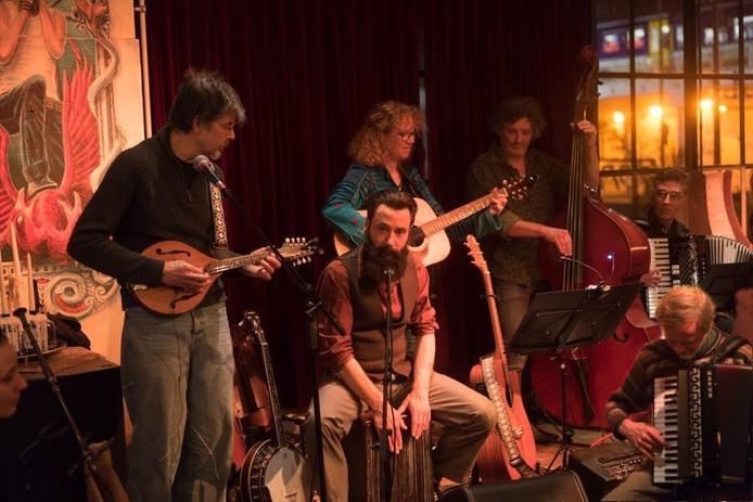 De folkband QuiVive