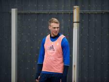 Jørgensen meldt zich voorzichtig op trainingsveld Feyenoord