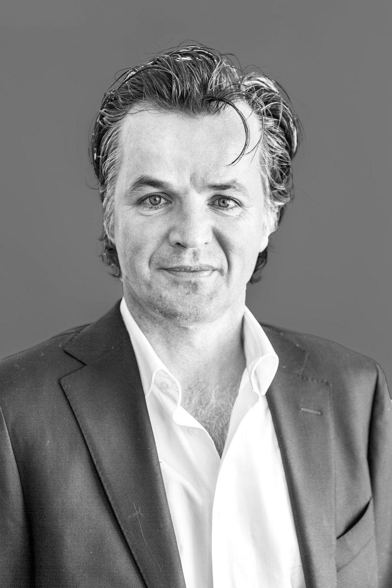 Erik Flentge is fractievoorzitter van SP Amsterdam. Beeld Tammy van Nerum