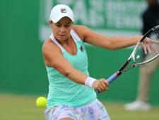 Barty plaatst zich voor WTA-finale in Nottingham