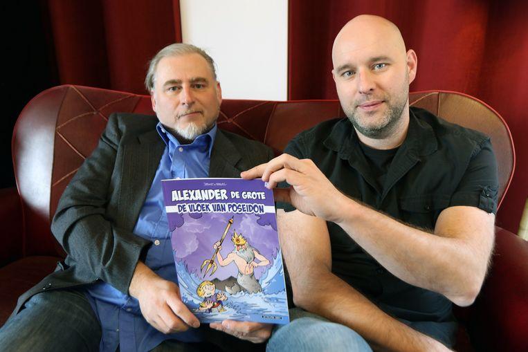 Bart Cassauwers en Bart Proost met hun nieuw album.