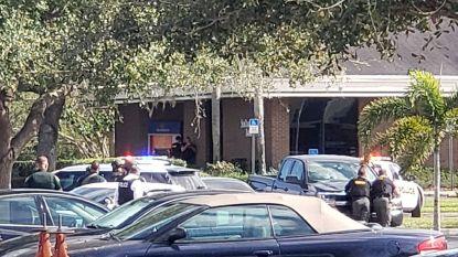 Vijf doden bij schietpartij in bank VS