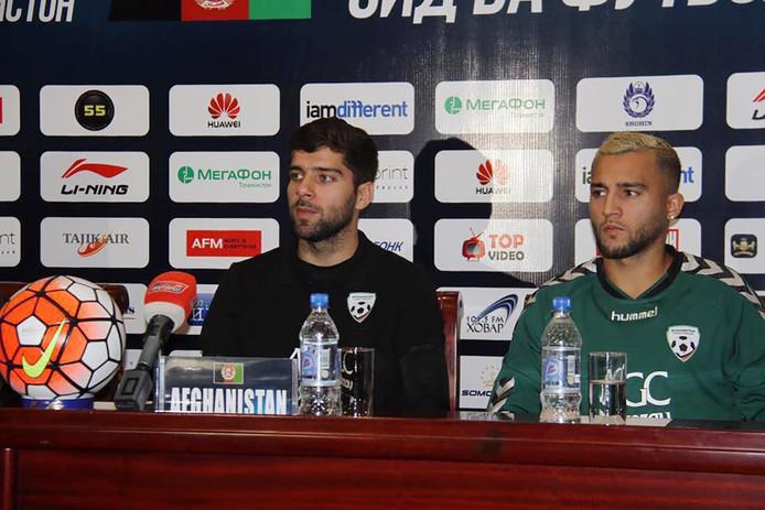 Anoush Dastgir (links).