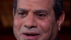 Egyptische president probeert interview over bloedbad tegen te houden