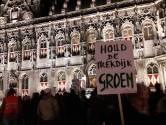 Luid protest tegen plannen Trekdijk  in Nieuw- en Sint Joosland