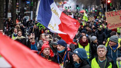 24ste dag van algemene staking in Frankrijk: treinverkeer opnieuw zwaar verstoord