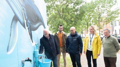 """Inwoners mogen grondwater aftappen aan Saffrou-site in Oudenaarde: """"Goed voor je gazon, maar niet om van te drinken"""""""