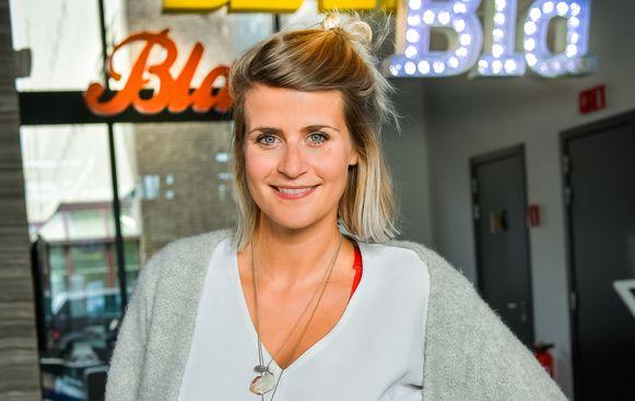 Eva Daeleman vertelt op het ME/WE-festival in Halle over haar burn-out.