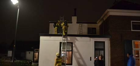 Woning in Bemmel loopt schade op door brand aan schoorsteen